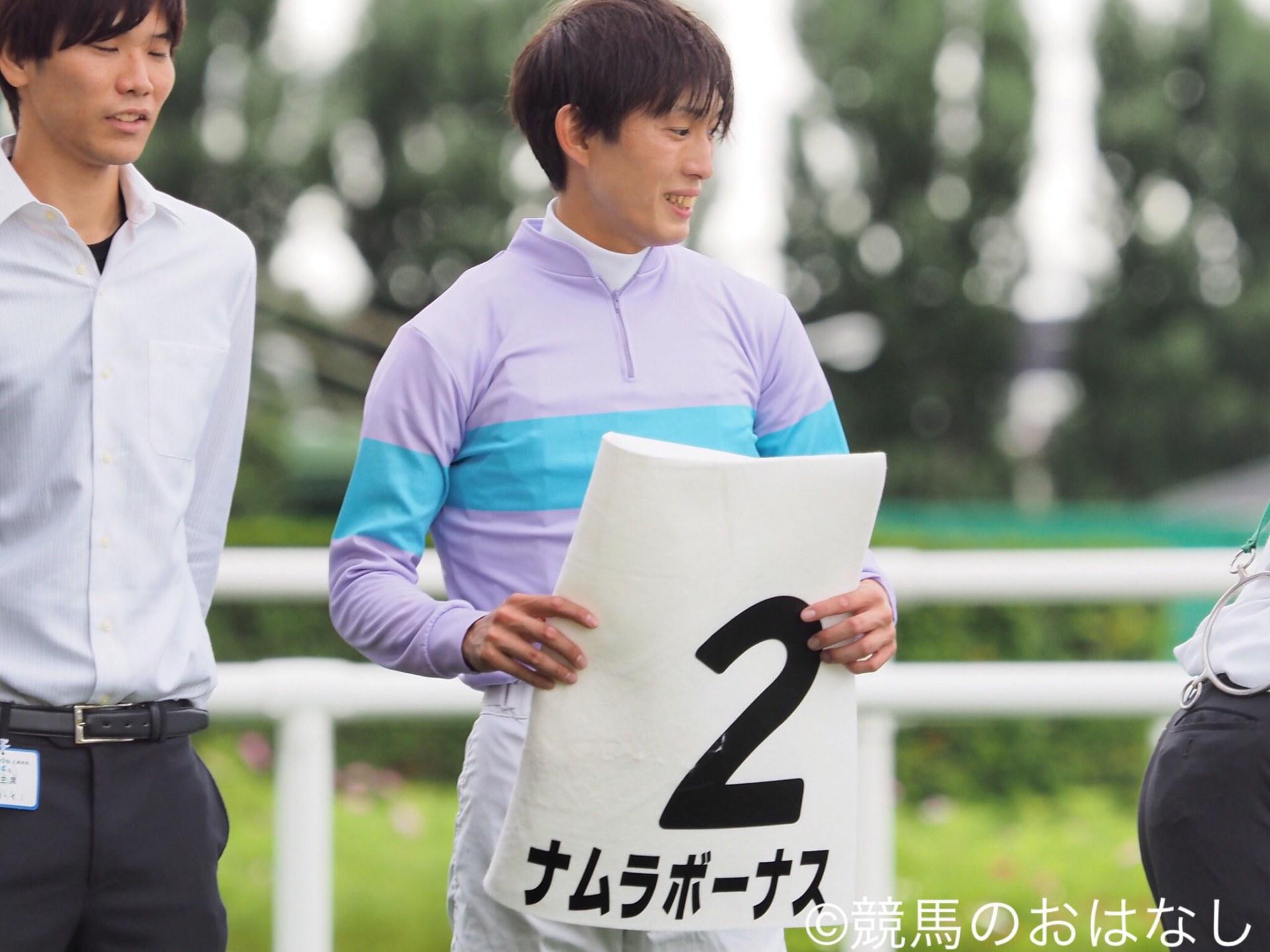 【札幌/2歳新馬】藤岡康「素直で乗りやすい」ナムラボーナス逃げ切り