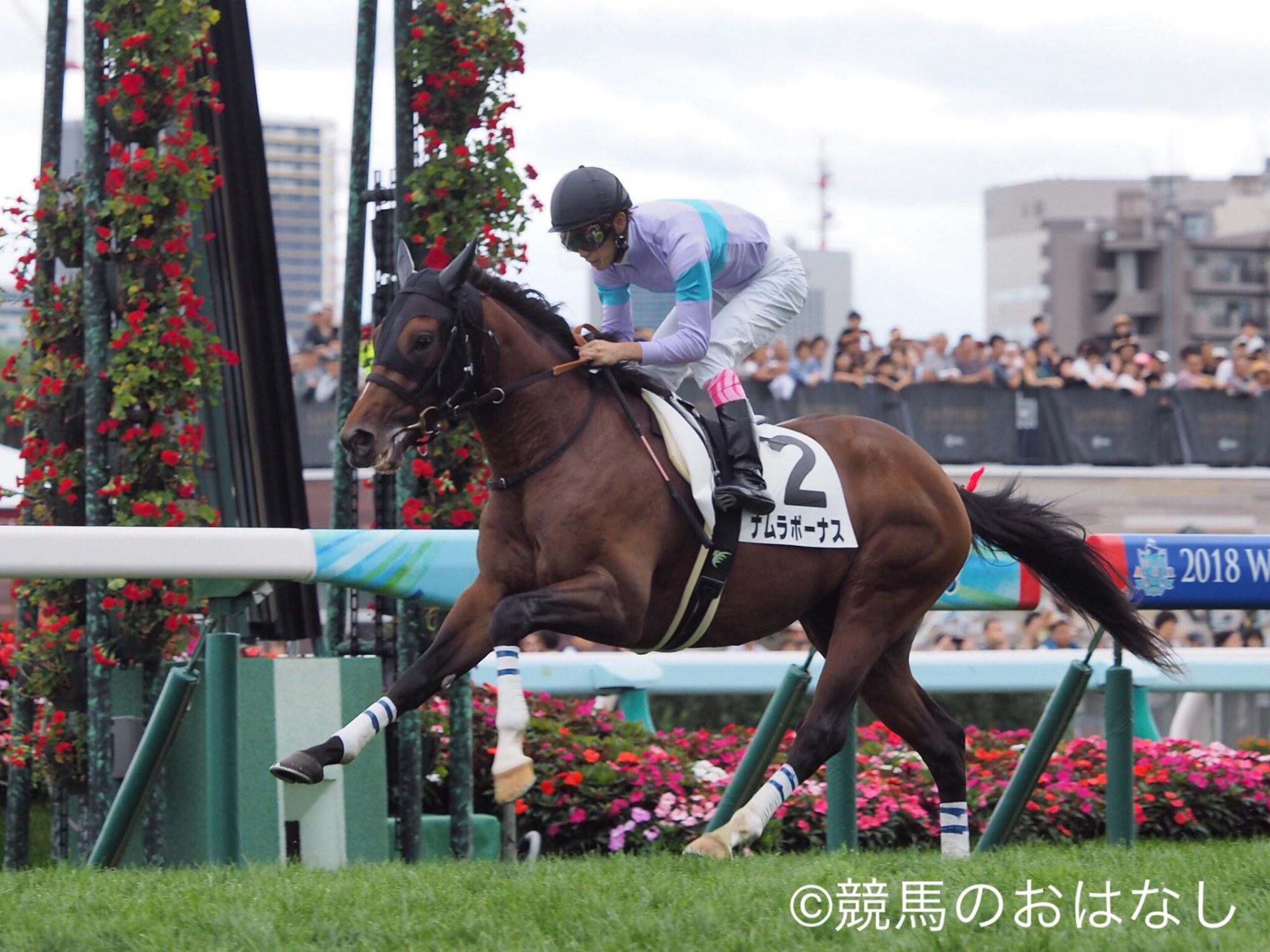 【札幌5R/2歳新馬】ヨハネスブルグ産駒 ナムラボーナスが逃げ切りV!
