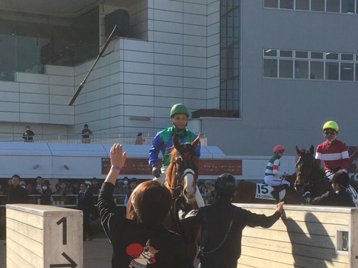 日曜中山6R・2歳新馬はディサーニングが1番人気にこたえて優勝
