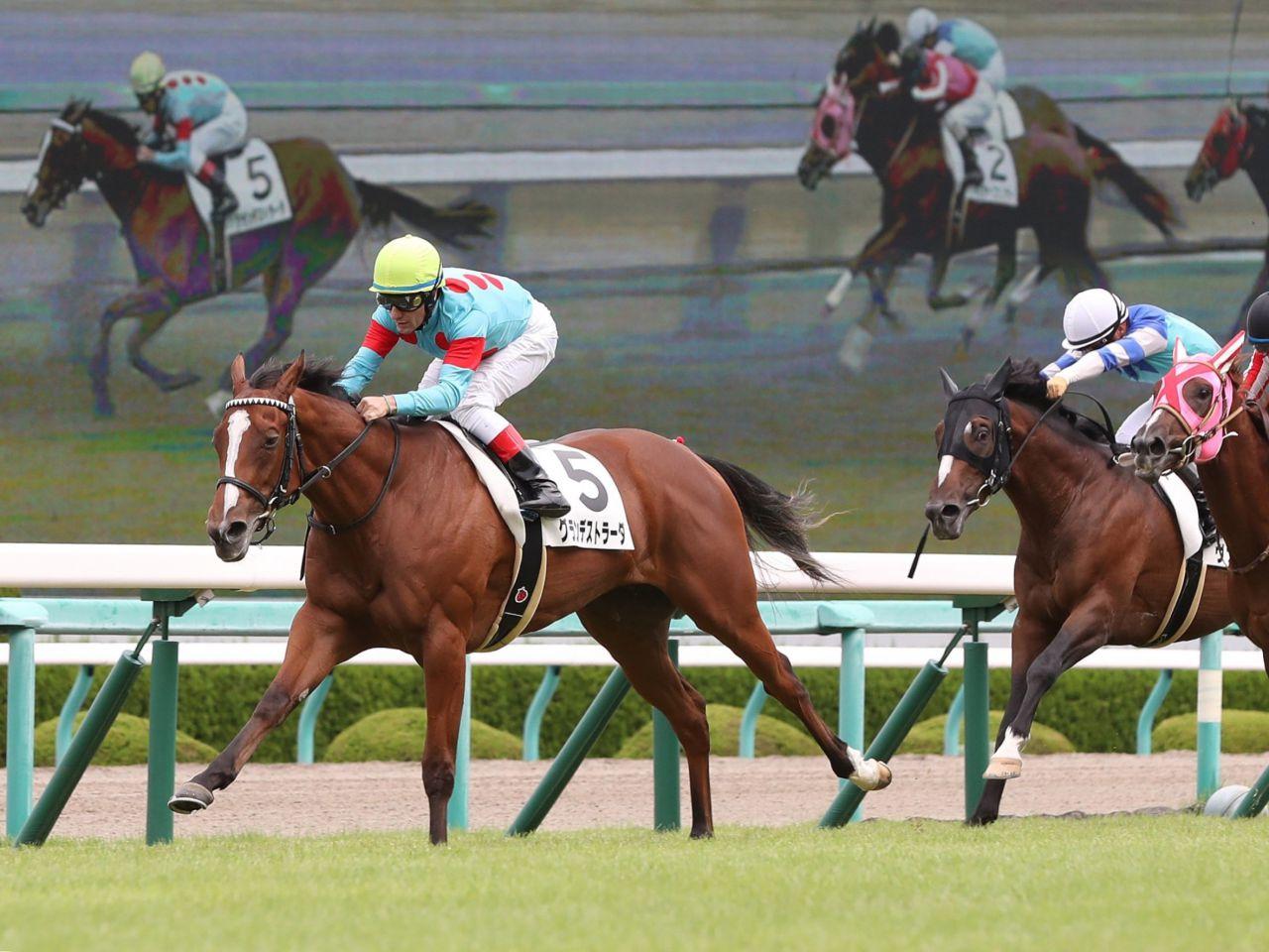 【阪神5R/2歳新馬】単勝1.3倍グランデストラーダが人気に応える