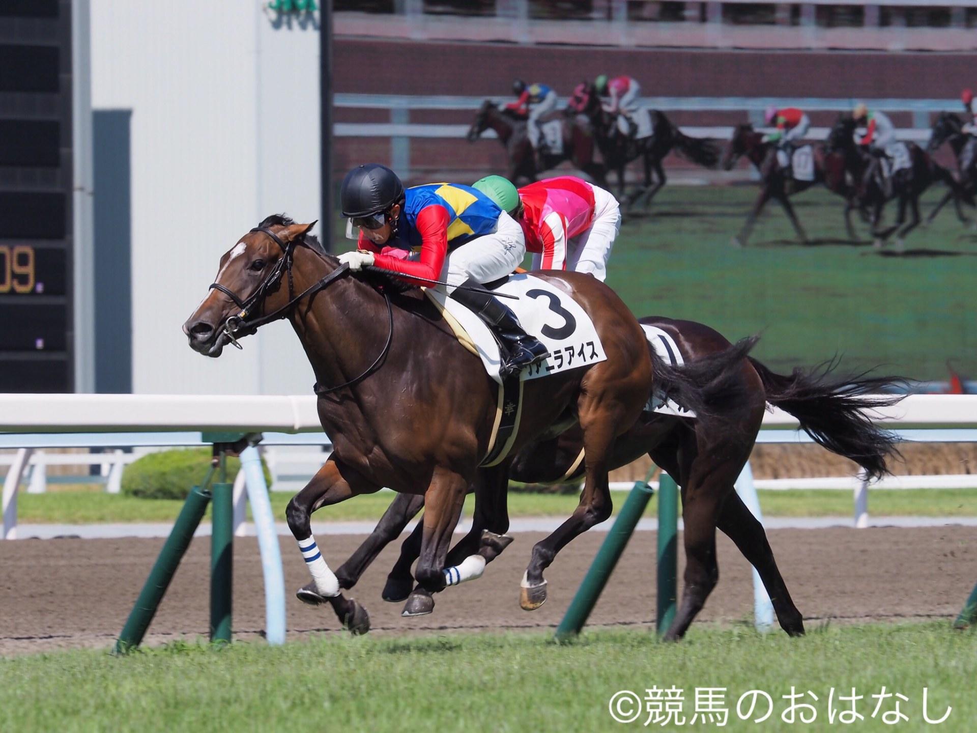【小倉1R/2歳未勝利】キンシャサノキセキ産駒 ヴァニラアイスが人気にこたえる