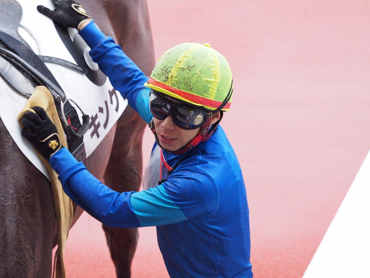 【阪神2歳新馬】池添謙「初戦としては良かった」