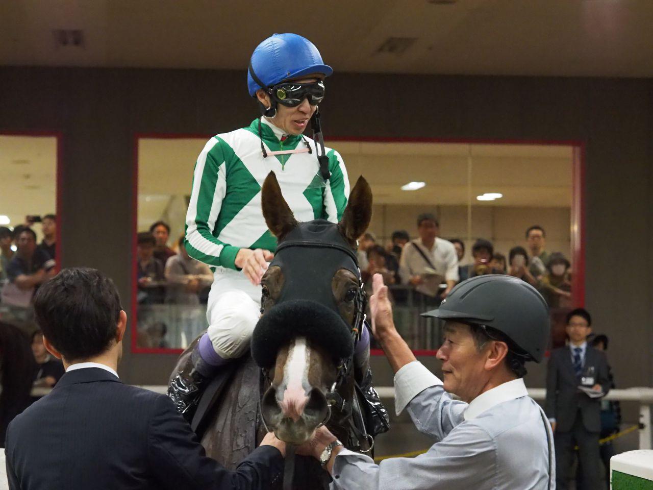 【神無月S】武豊マリームーンが3連勝でオープン入り