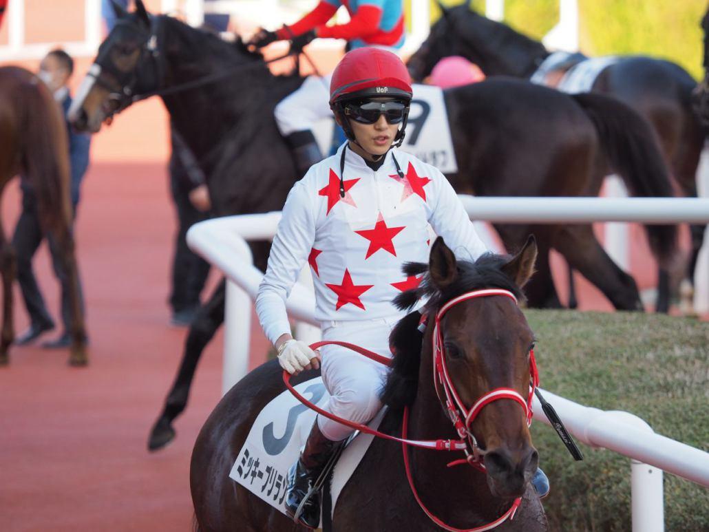 【阪神4R】ミッキーブリランテが人気に応えて初勝利