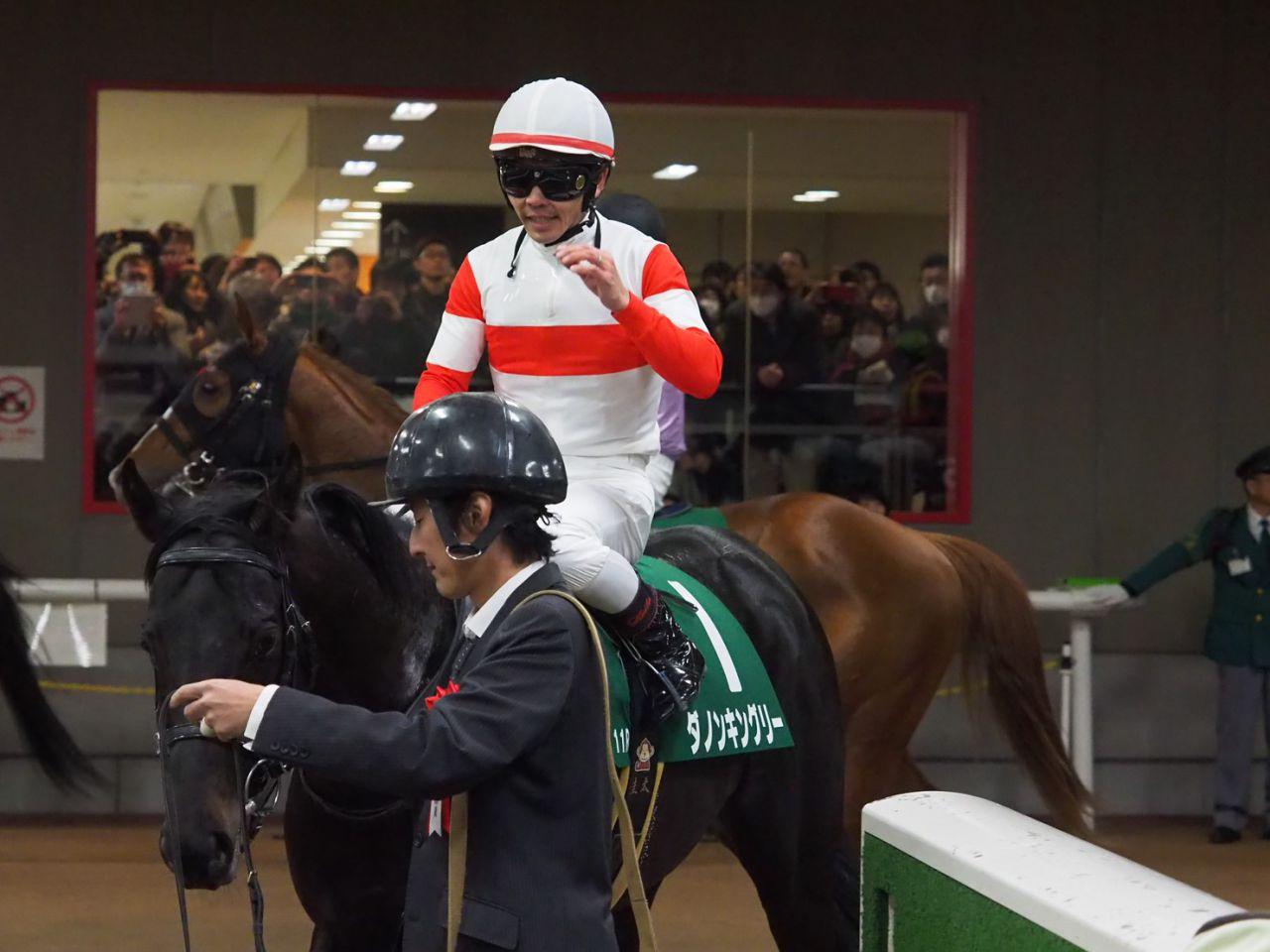 山田敬士騎手、「距離錯誤」からの復帰後初勝利