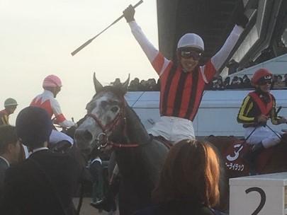 【中山記念】松岡「この馬でG1を勝ちたい」ウインブライトが快勝!