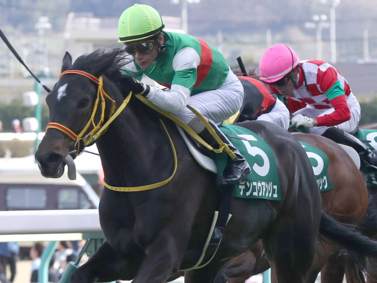 【福島牝馬S】柴田善「結果残せて責任を感じますね」デンコウアンジュが3年半ぶりV!