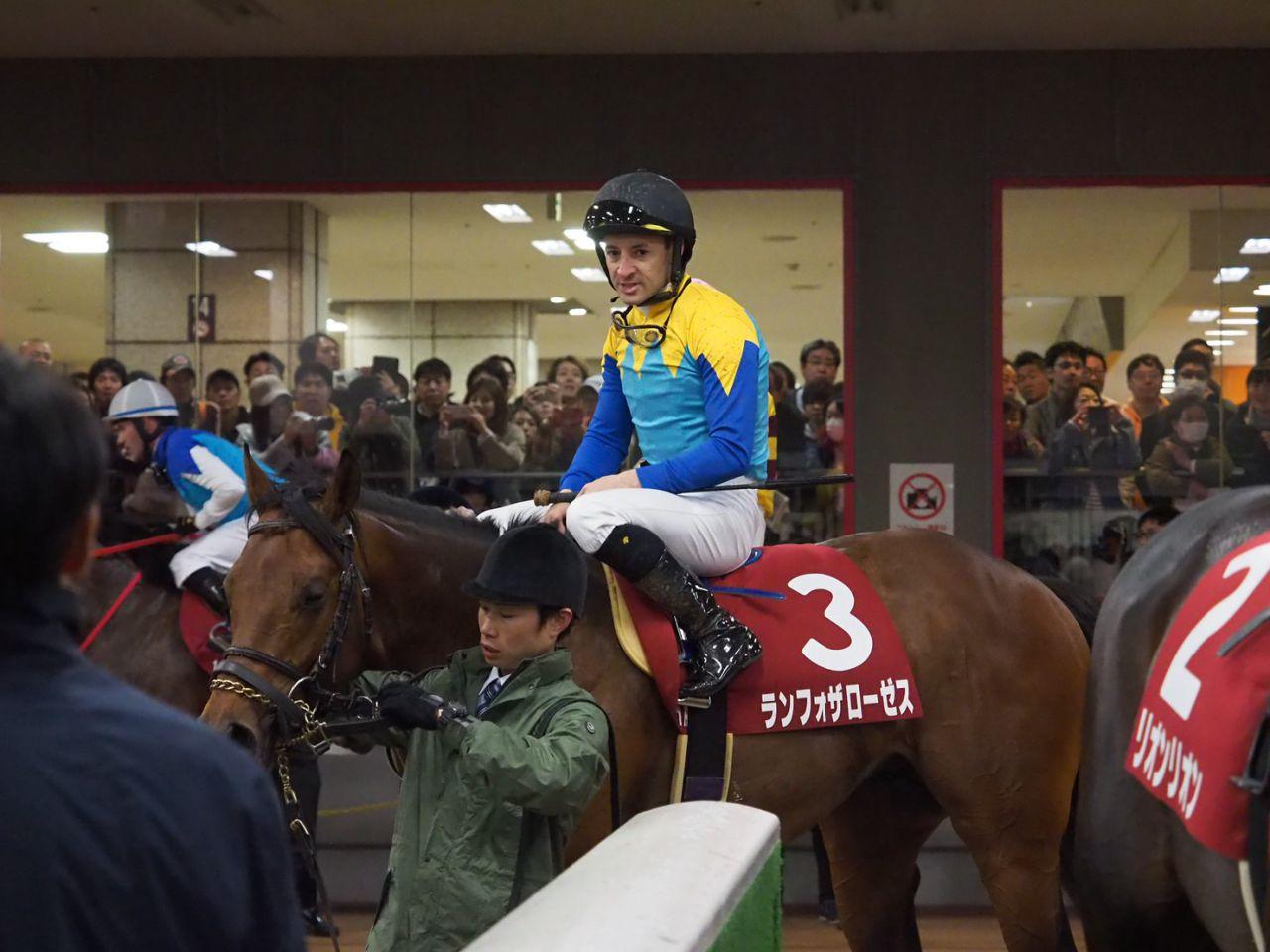 【青葉賞】ルメール「良馬場の方が…」ランフォザローゼス惜しい2着