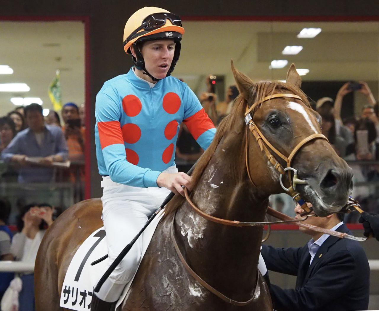 日曜東京5R新馬はサリオスがレイデオロの半弟・アブソルティスモを破る