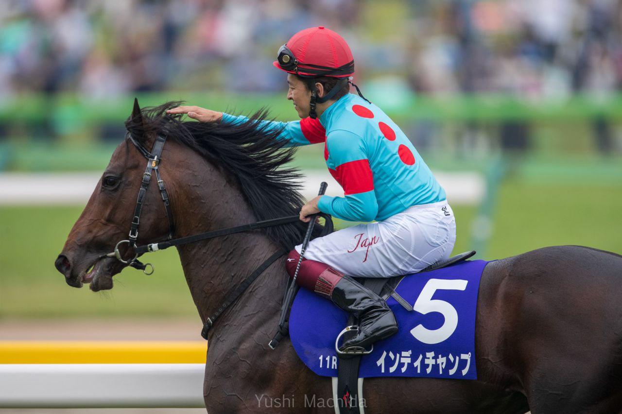 【安田記念】福永「日本で一番強い馬を負かした」インディチャンプがG1初制覇