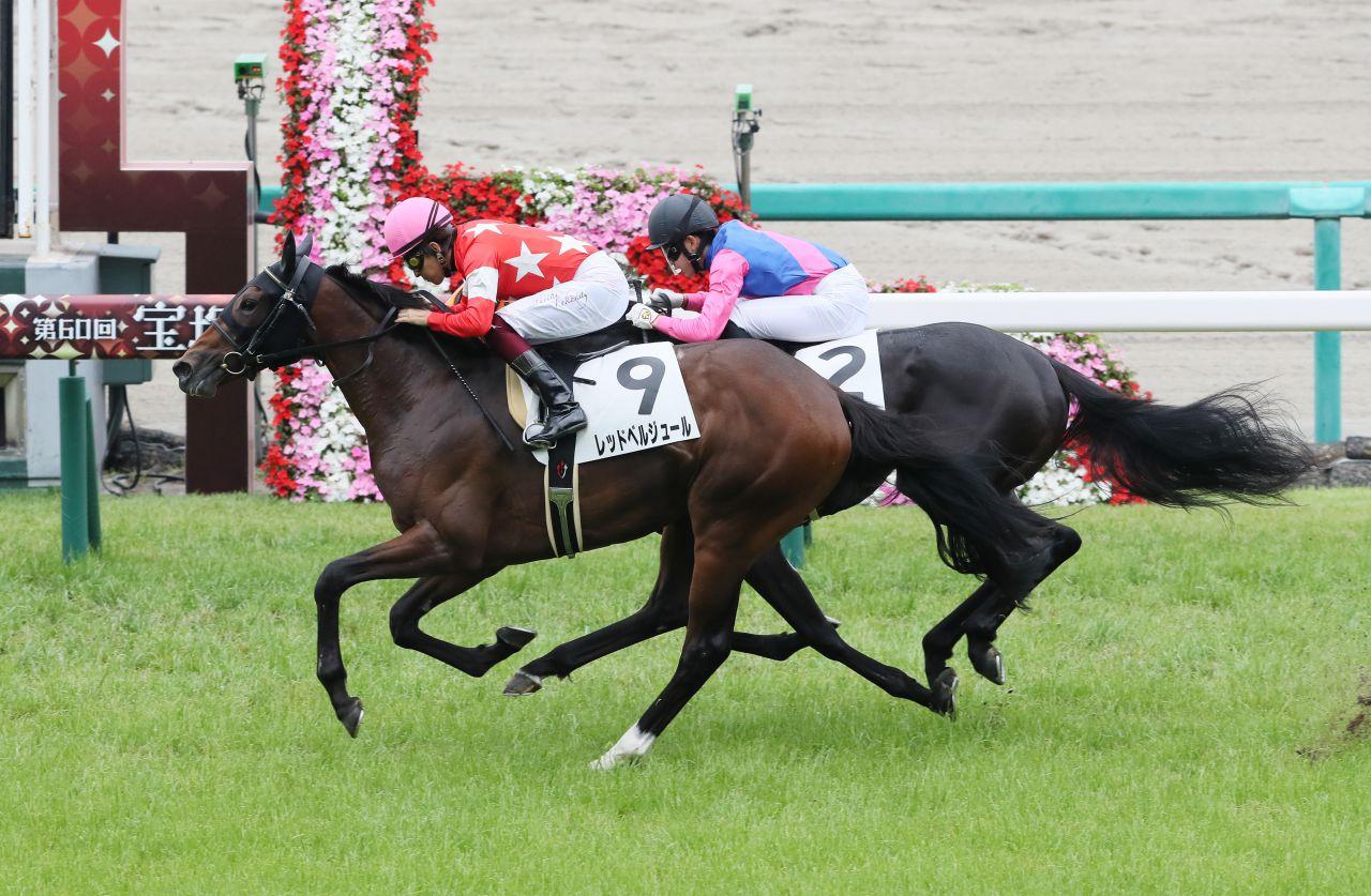 【新馬/阪神5R】レッドヴェルジュールが快勝!シルヴェリオは4着