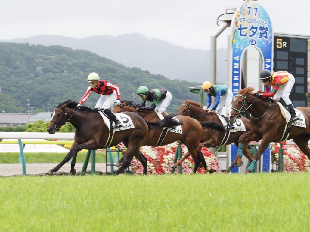 【新馬/福島5R】木幡育「2000mも大丈夫」エヴァーガーデンが快勝!