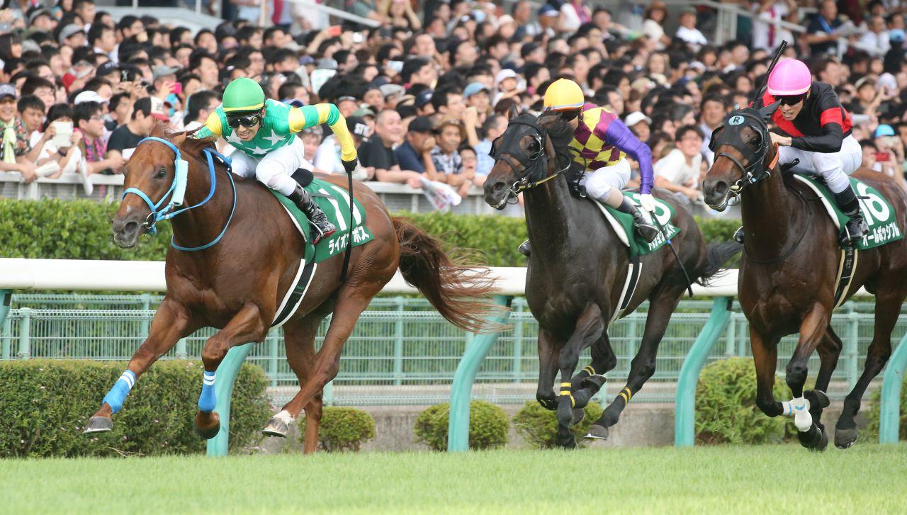 【新馬/小倉5R】カリニートがゴール前の接戦を制する!