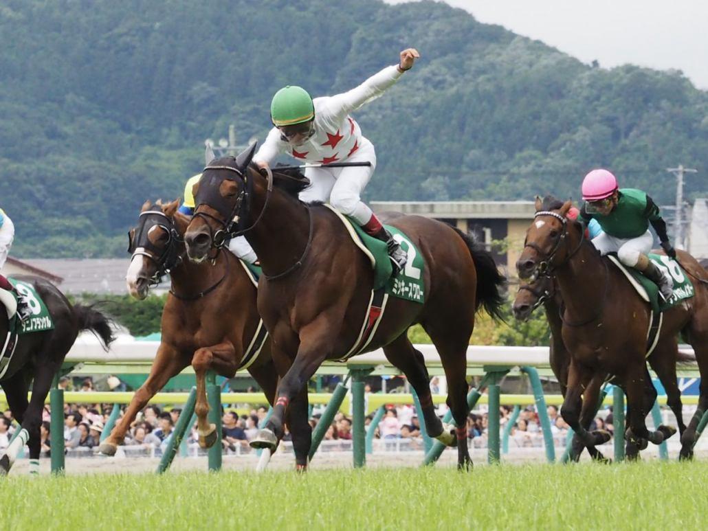 【七夕賞】内田博「この先が楽しみ」レース後 ジョッキーコメント