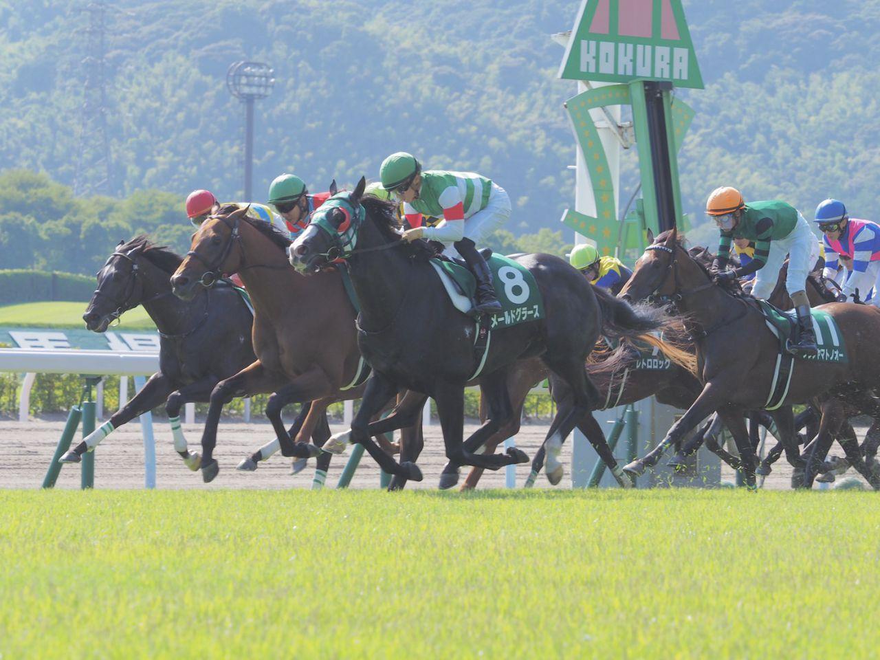 【小倉記念】メールドグラースが5連勝!重賞3勝目