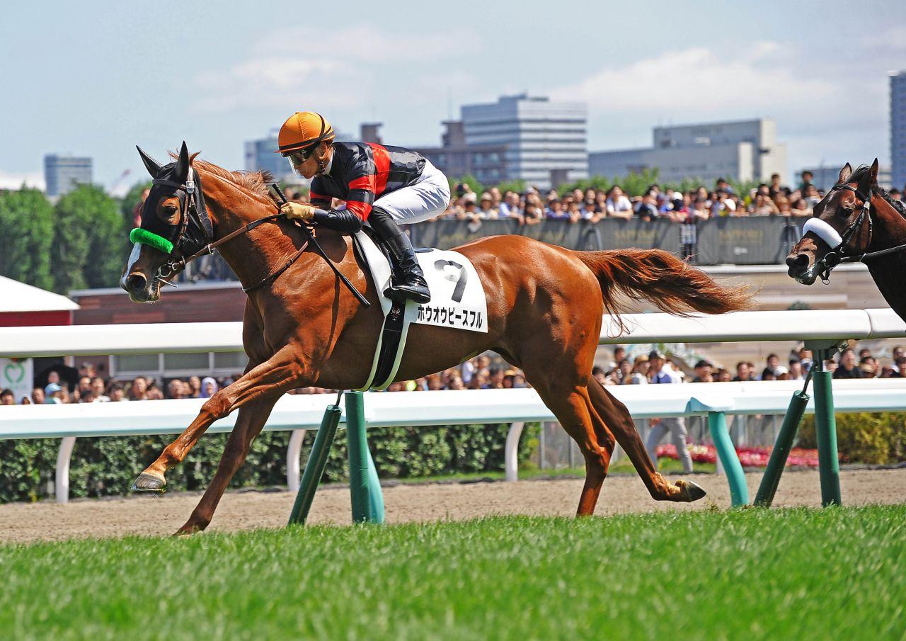 【新馬/札幌5R】ホウオウピースフルが勝利!ブラストワンピース妹