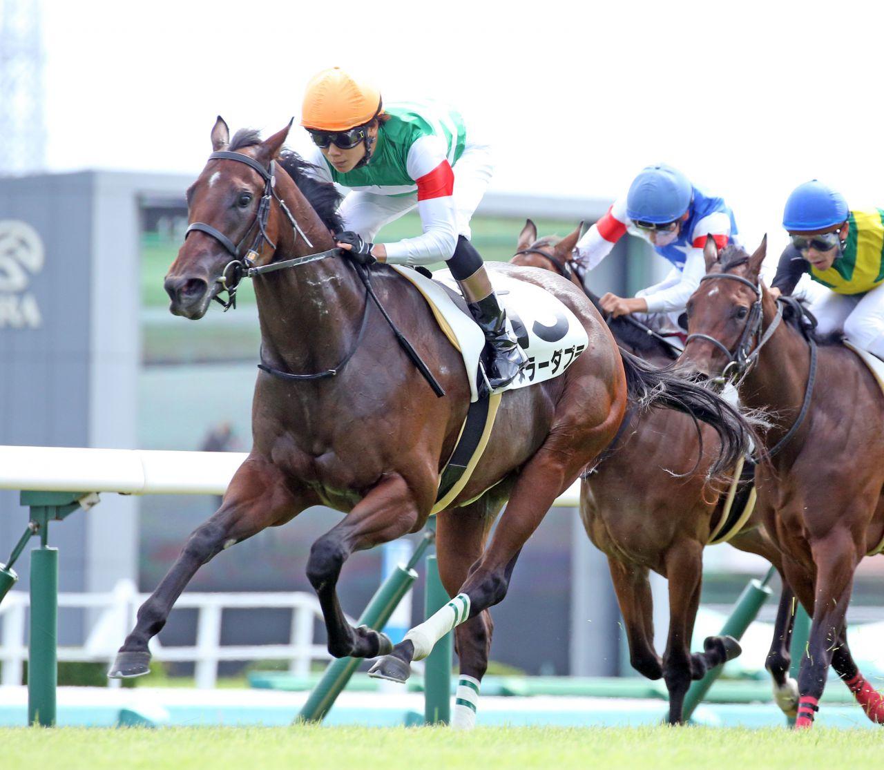 【新馬/中山5R】アヌラーダプラが断然の人気に応える!直線は流すように駆け抜ける
