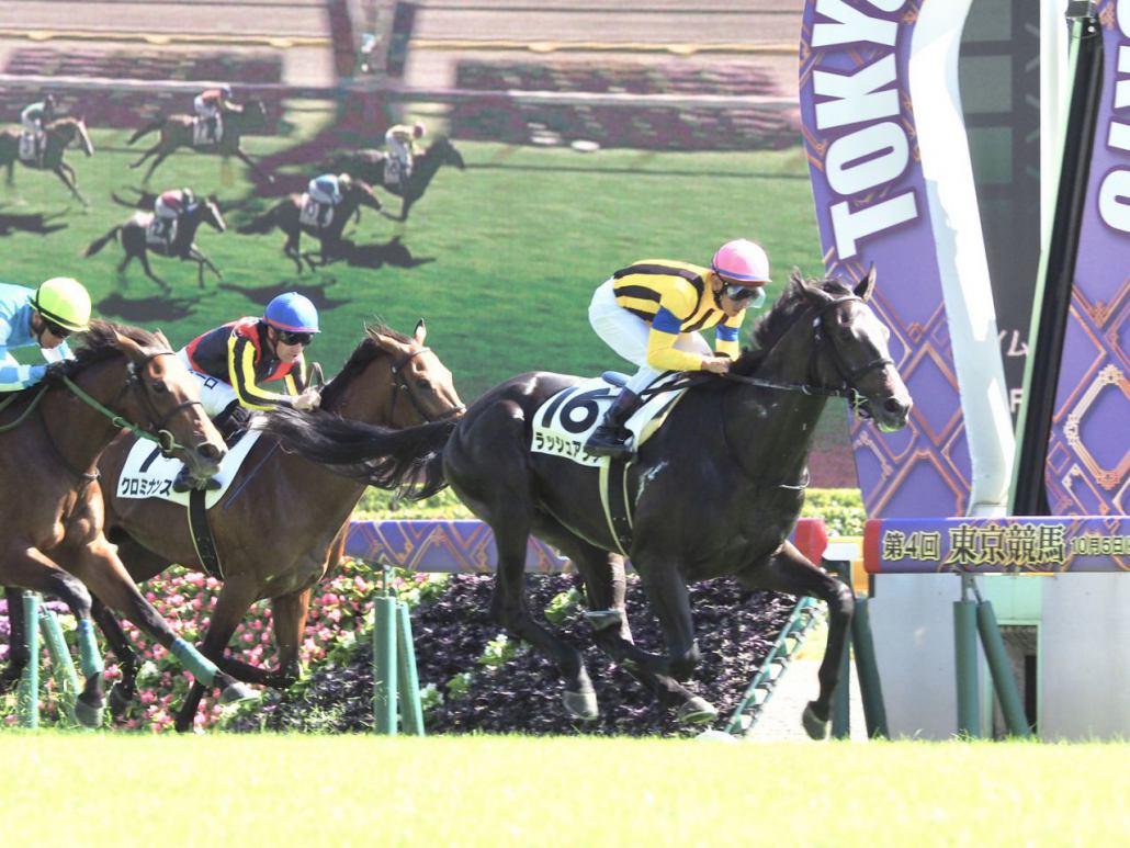 【新馬/東京5R】戸崎「追い切りからいい感じ」ラッシュアップが快勝!