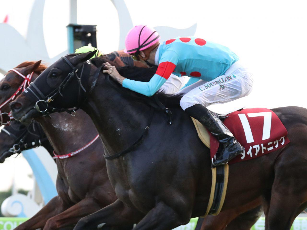 【スワンS】スミヨン「よく差してくれた」ダイアトニックが重賞初制覇!