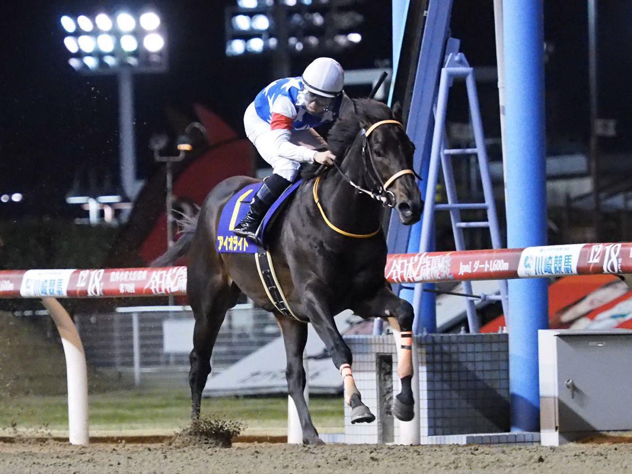 【全日本2歳優駿】武藤雅「上手に乗られて…」アイオライトはゴール寸前で戴冠を逃す