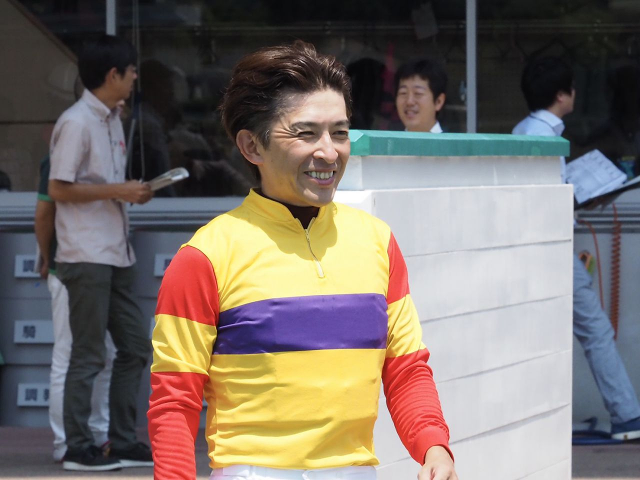 山本康志騎手が引退