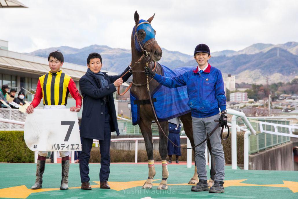 【新馬/阪神4R】エイシンフラッシュ産駒 パルディエスがデビュー勝ち!
