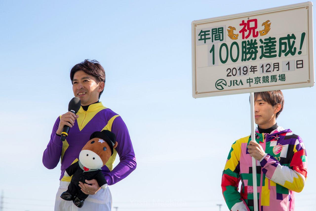 武豊騎手 JRA通算22000回騎乗達成!