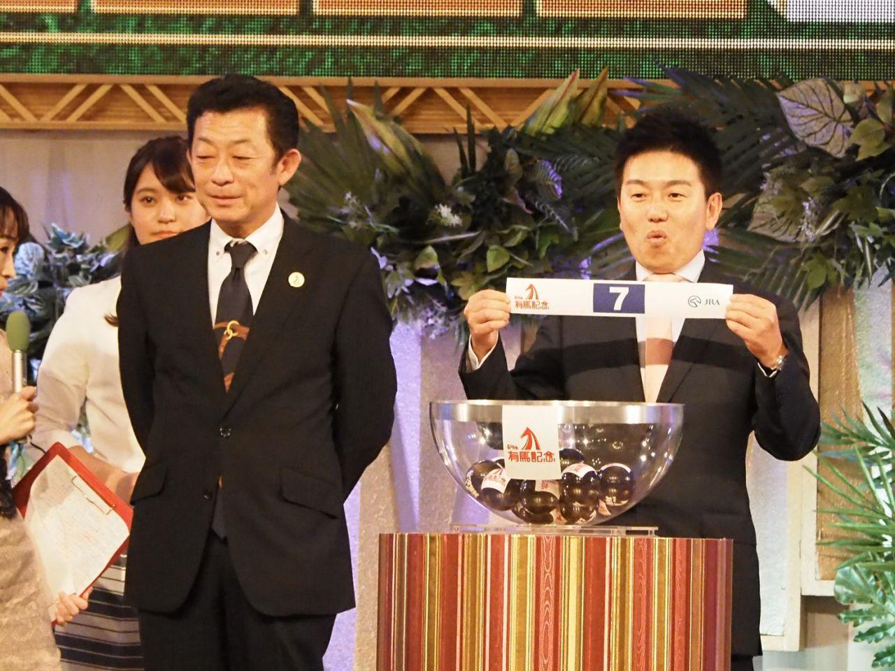 【有馬記念枠順速報】武豊ワールドプレミアは4枠7番