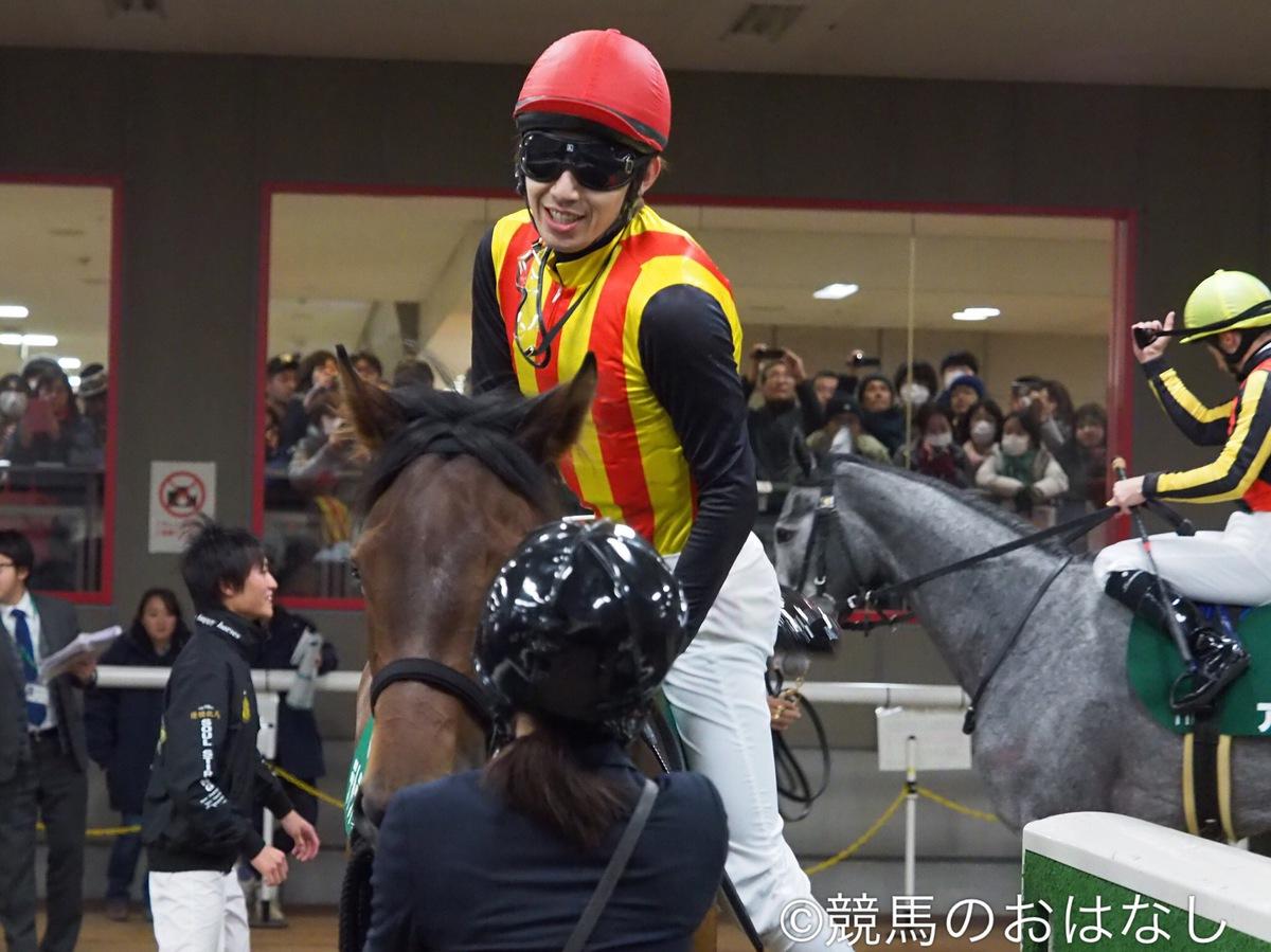 内田博幸騎手 JRA通算11000回騎乗達成!