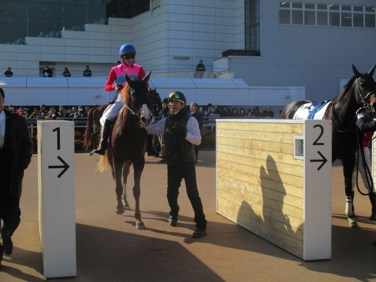 月曜中山4R新馬は山田騎手騎乗のペイシャチャームが制す