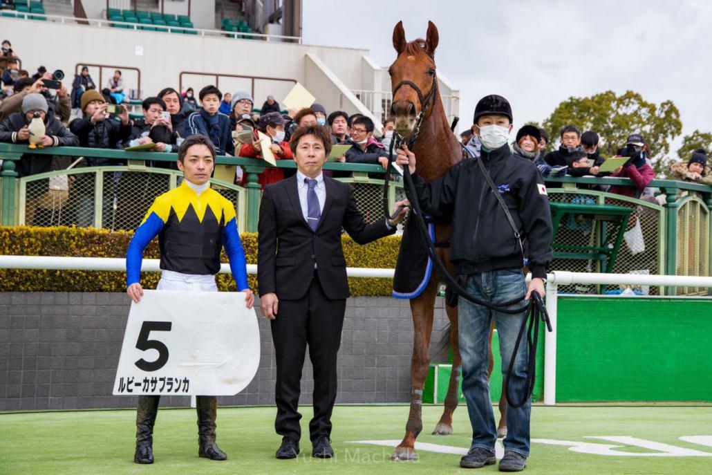 【新馬/京都6R】ルビーカサブランカがデビューV!全兄はユーキャンスマイル