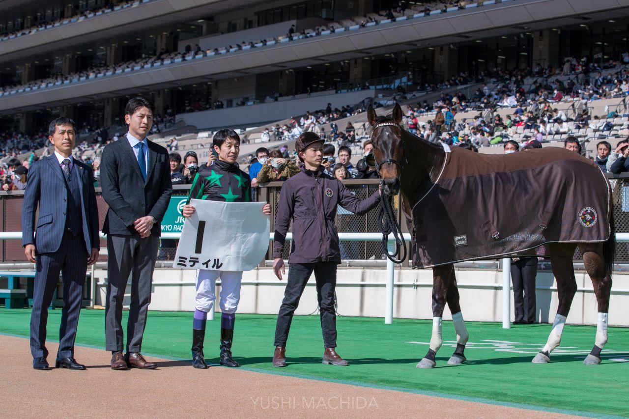 【新馬/東京2R】武豊「素直で真面目」ミティルが6馬身差逃げ切り