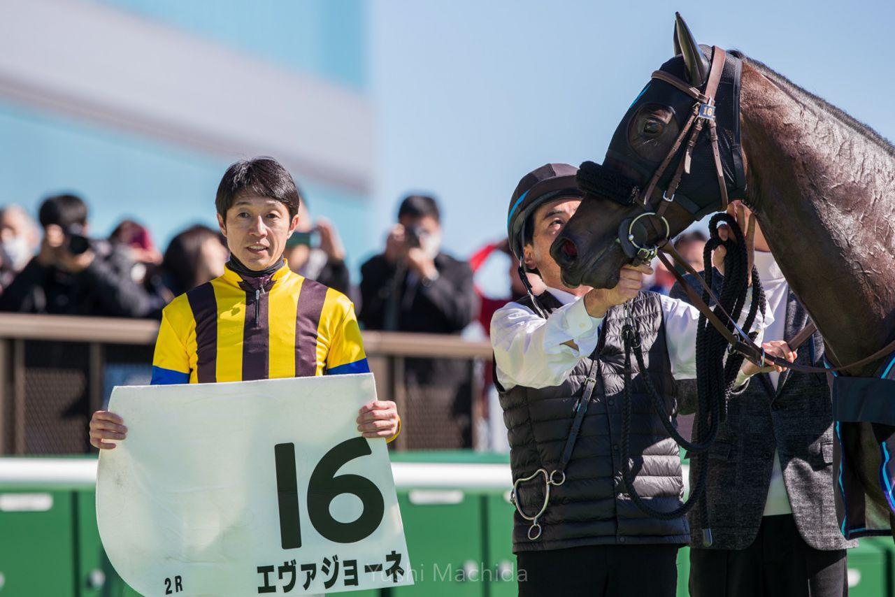 【新馬/東京2R】武豊「能力はあります」エヴァジョーネがデビューV!