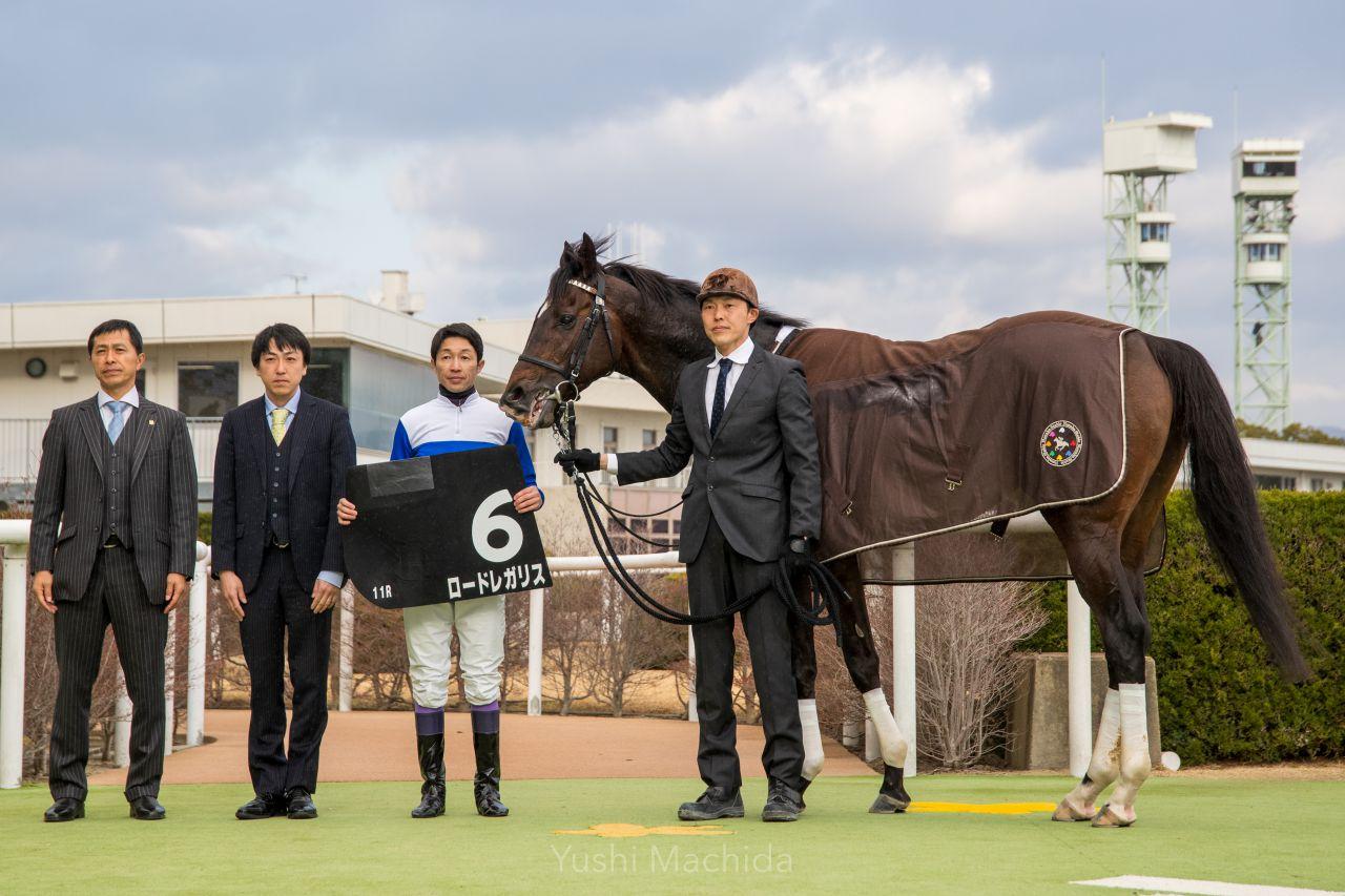 【アルデバランS】武豊「ブレーキかけた」ロードレガリスが6連勝