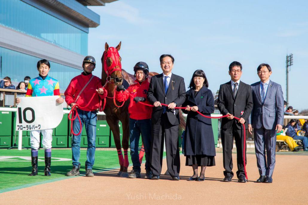 【東京8R】武豊騎乗のフローラルパークが3勝目!
