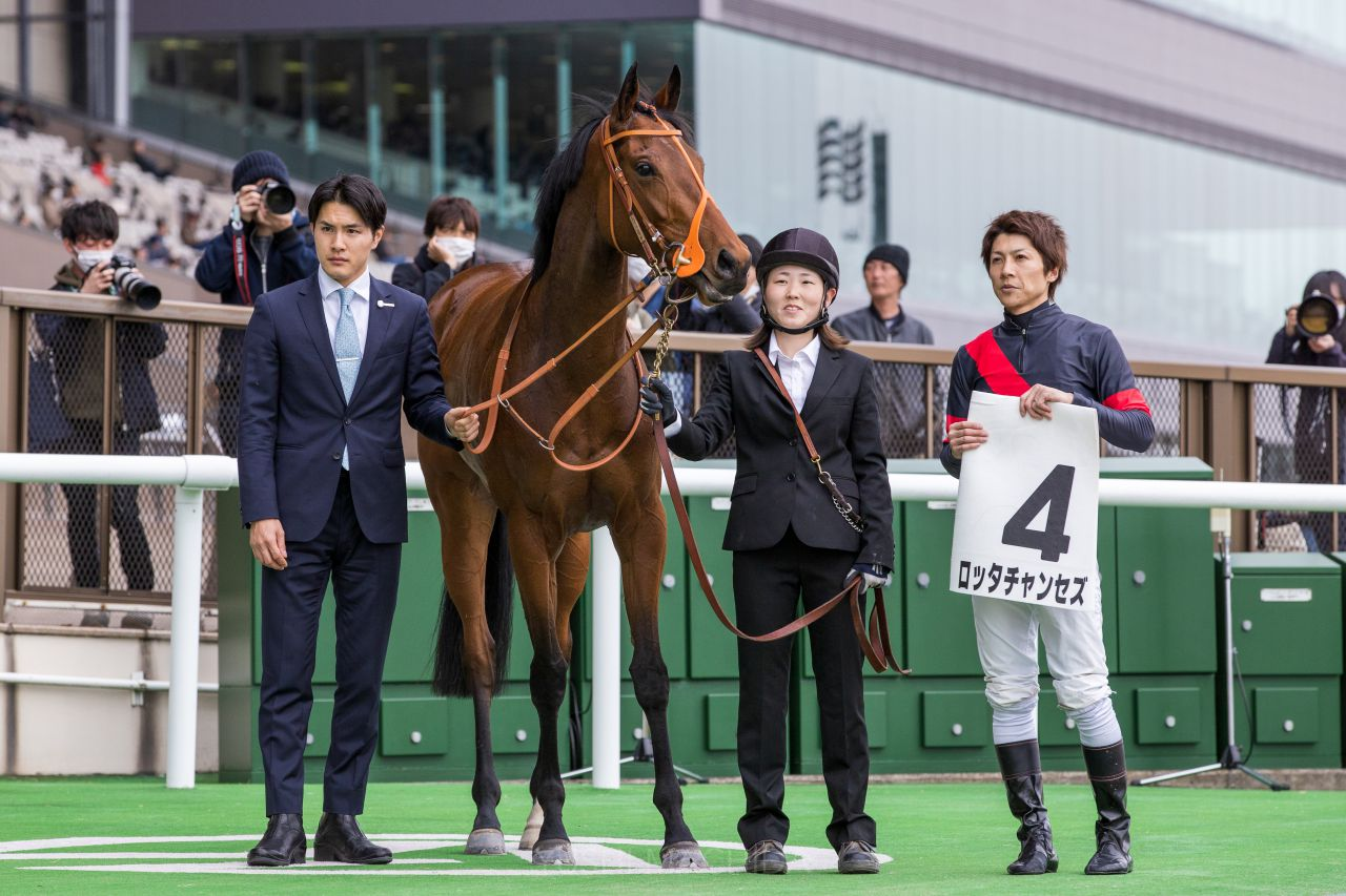 【新馬/東京6R】石橋脩「走る馬」ロッタチャンセズがデビューV!