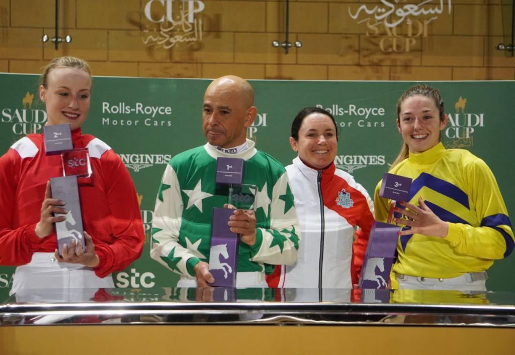 【サウジ騎手招待】ミシェルが総合3位タイ!武豊は総合8位タイ、女性騎手3名が表彰台に