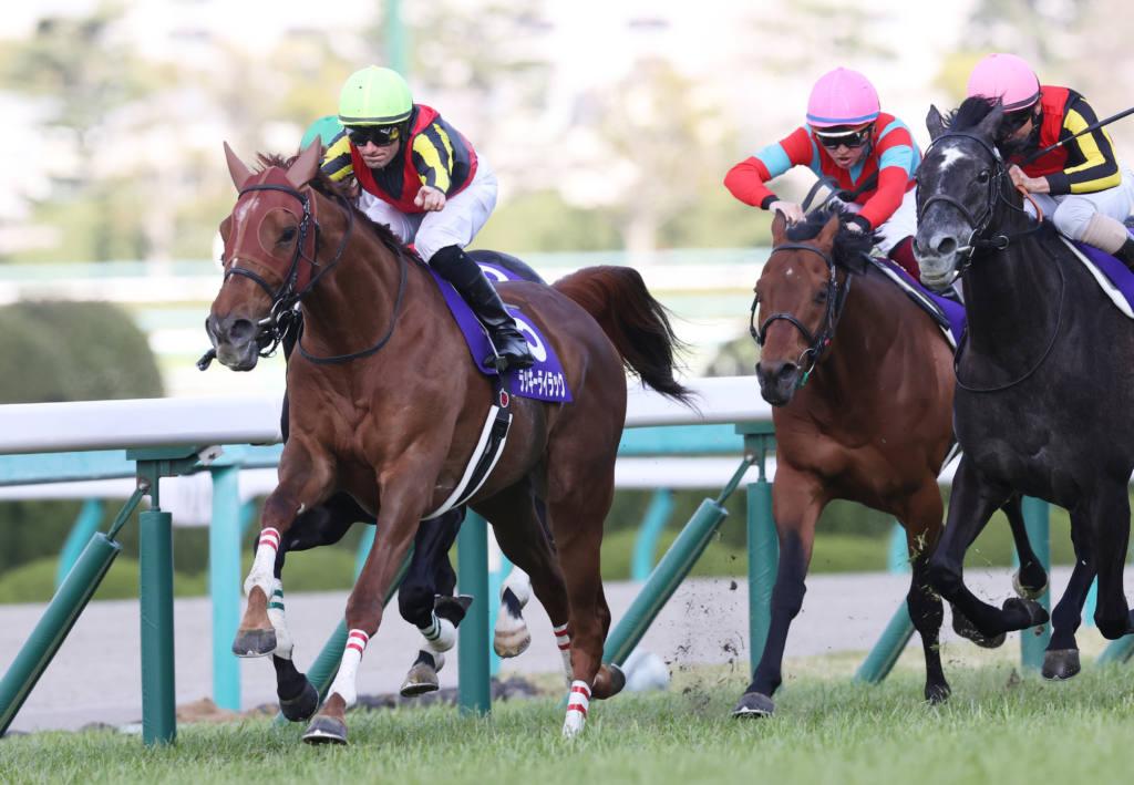 【大阪杯】ラッキーライラックが強豪撃破!牝馬ワンツー