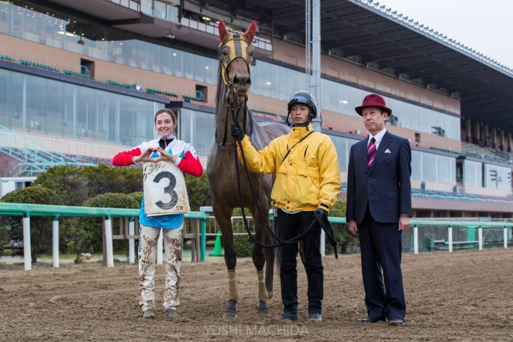 美人騎手ミシェルが外国人騎手の地方競馬短期免許勝利数記録を更新