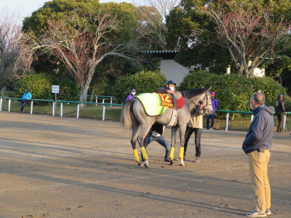 【桜花賞】スマイルカナ 柴田大「スピードを生かすような競馬」