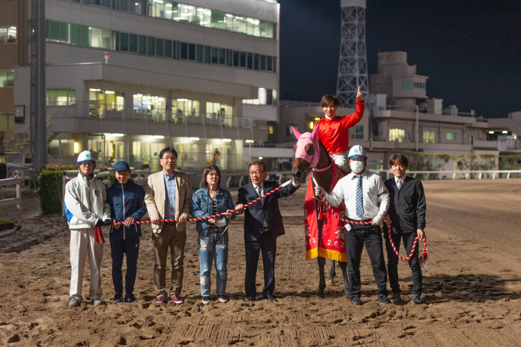 【羽田盃】山崎誠「想定より前めな競馬」レース後ジョッキーコメント