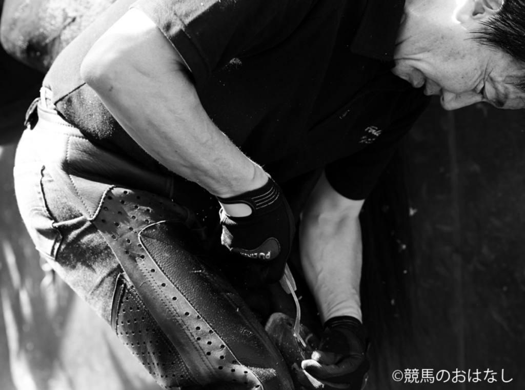 【西内荘コラム】マックイーン落鉄の真相