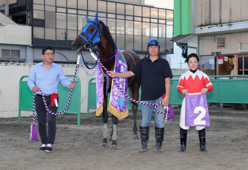 【水沢・栗駒賞】1番人気プレシャスエース号が逃げ切って勝利