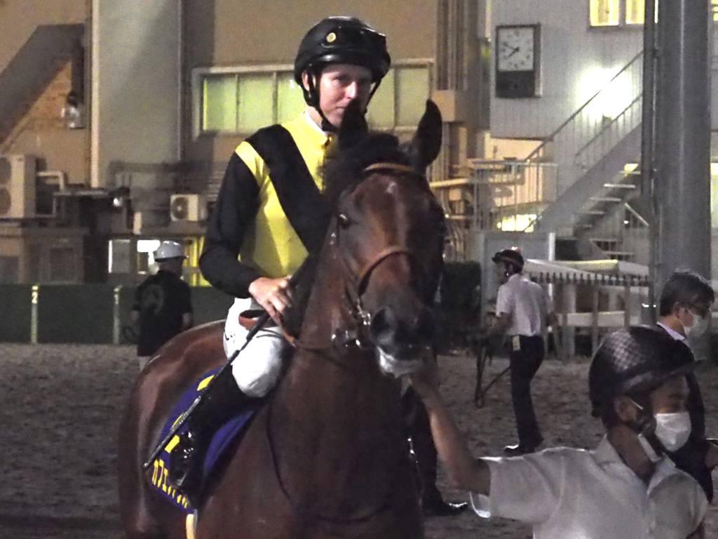 【JDD】池添謙「勝ち馬にぴったり来られた」レース後ジョッキーコメント