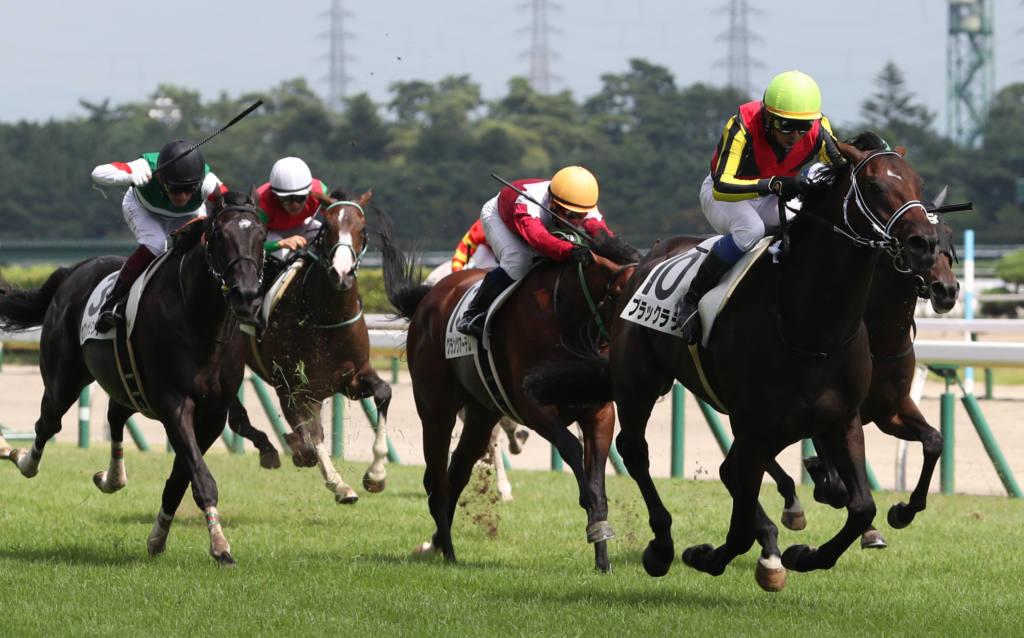【新馬/新潟5R】ブラックタイド産駒 ブラックラテが2馬身差完勝!