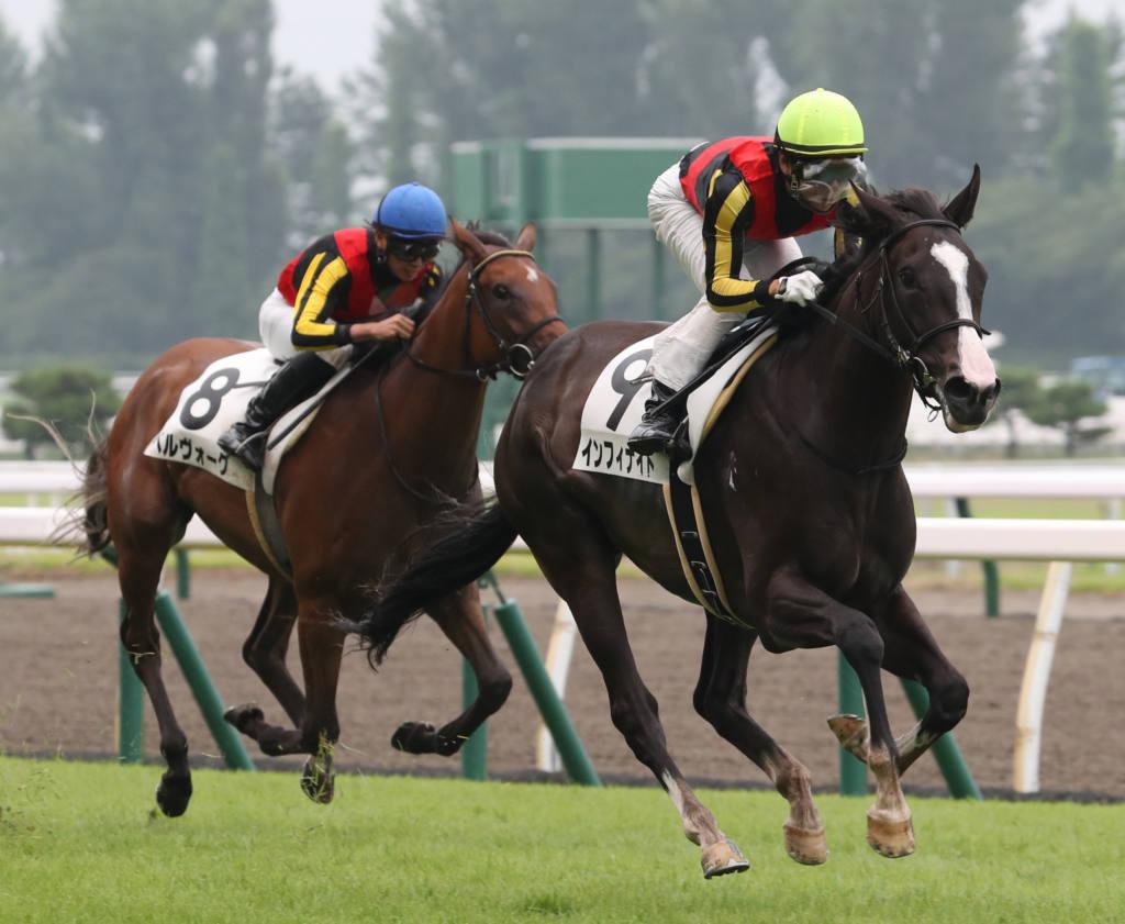 【新馬/新潟6R】モーリス産駒 インフィナイトがデビュー勝ち