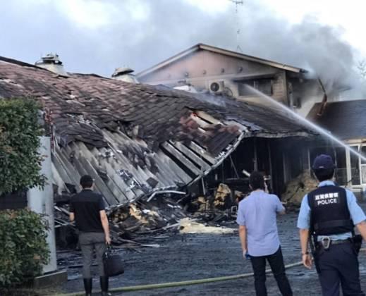 JRA栗東トレセンで火災発生 馬が取り残された可能性も