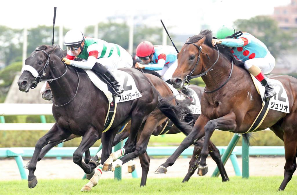 【新馬/中山5R】モーリス産駒 ブルメンダールが接戦を制する