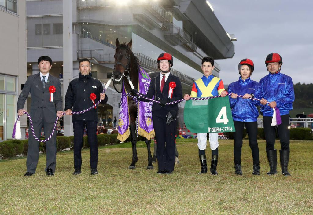 【盛岡・OROターフスプリント】ツーエムマイスターが4馬身差で圧勝!