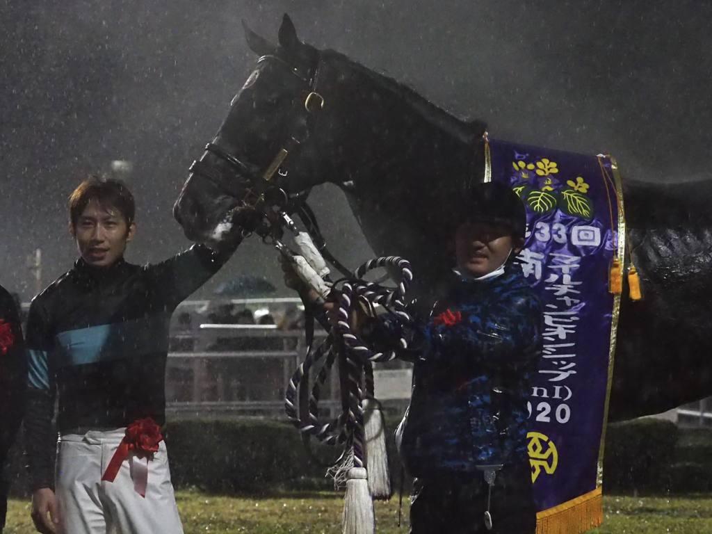 【南部杯】アルクトスが悲願のG1制覇